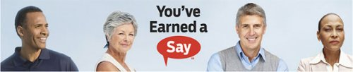 AARP You've Earned A Say - banner