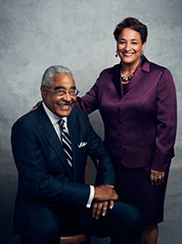 AARP CEO Jo Ann Jenkins and Former AARP CEO Barry Rand