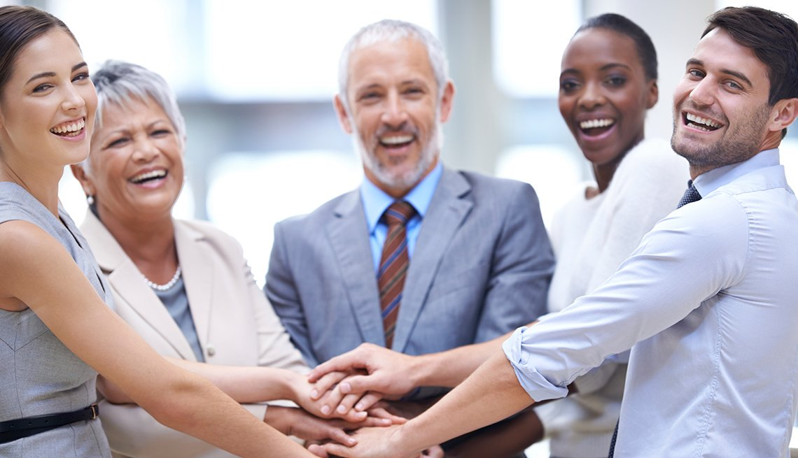 Financial resilience, group of people, Jo Ann Jenkins column