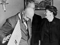 Presidente Eisenhower y la Dra. Andrus