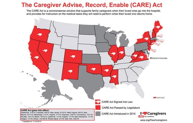 Care Act Map