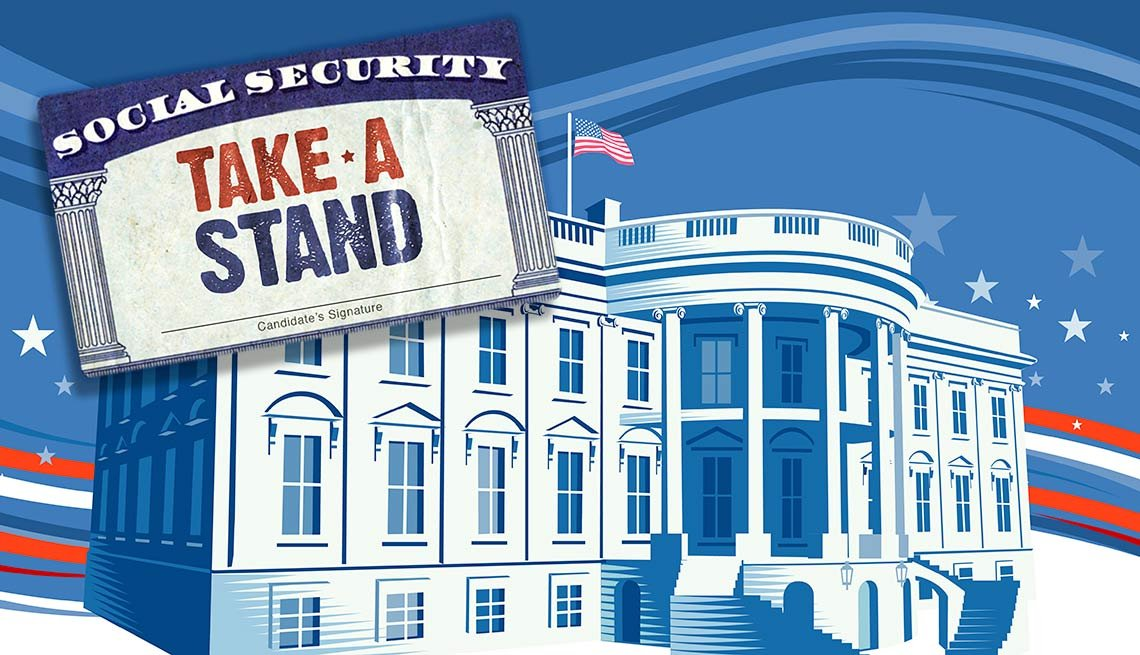 AARP Take a Stand on Social security with white house
