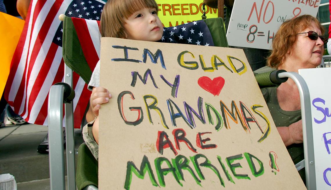 Milestones in Gay History in America - contradictions in California