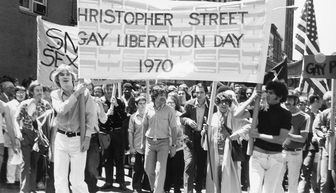 Milestones in Gay History in America - first pride day