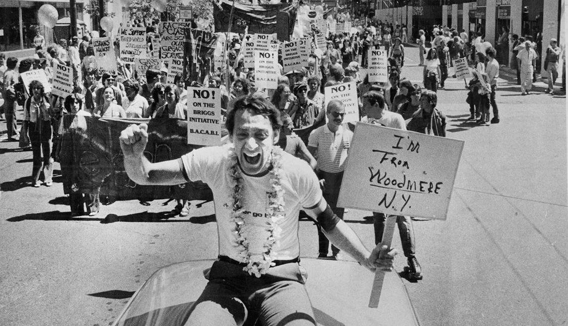 Milestones in Gay History in America - Milk elected supervisor
