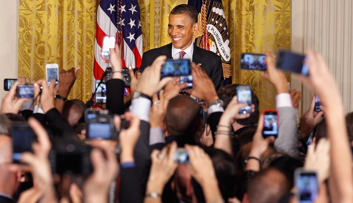 Milestones in Gay History in America - presidential support