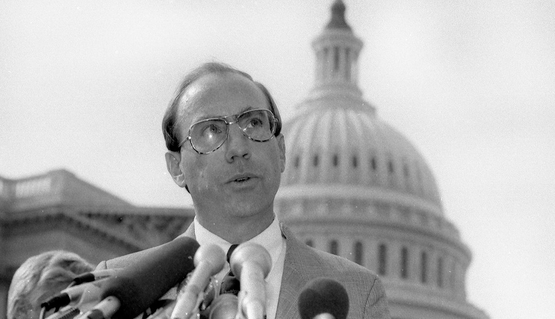 Milestones in Gay History in America - Rep Garry Studds scandal