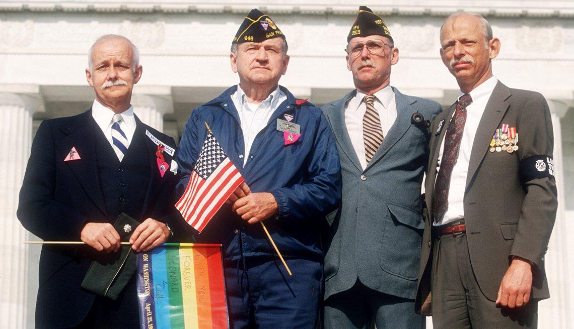 Veteranos de las fuerzas armadas de Estados Unidos - Derechos de los homosexuales