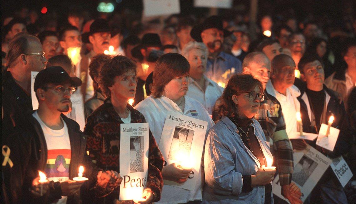 Vigilia por los crimenes de odio