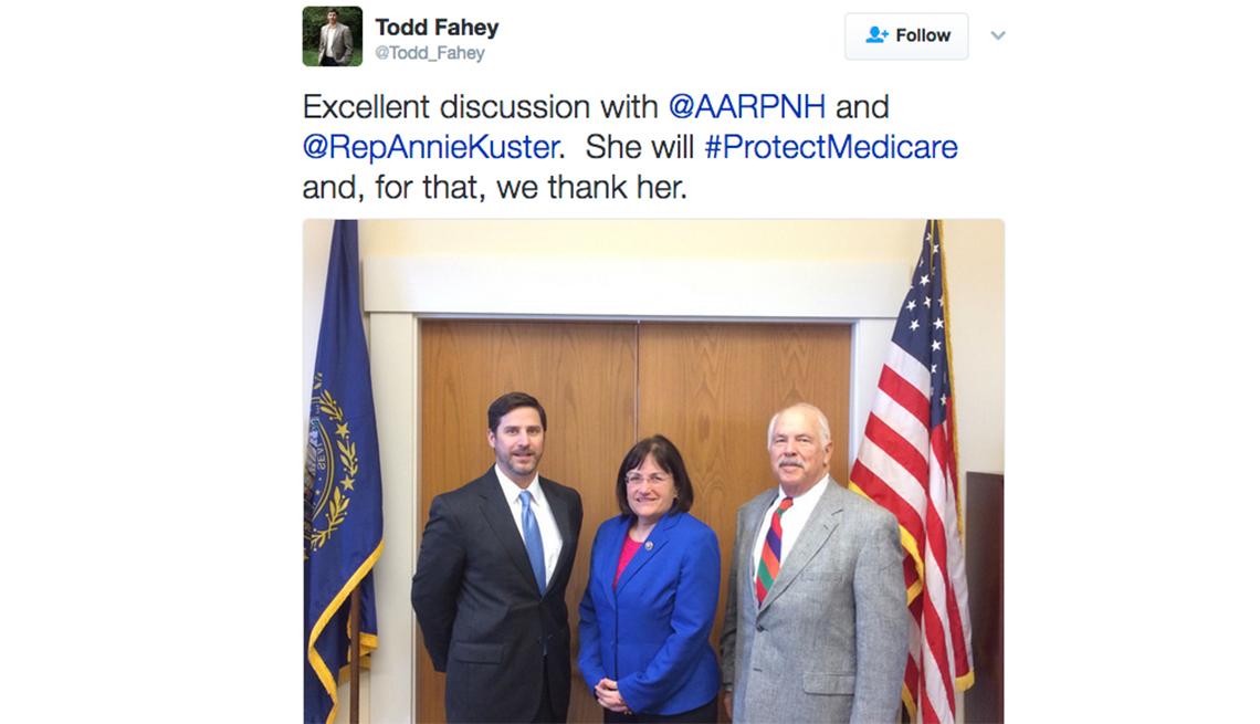 Tweet Rep Annie Kuster