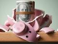Alcacía rota y dinero