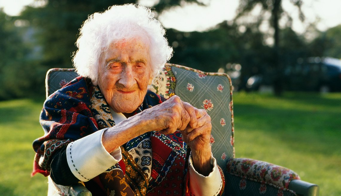 Jeanne Calment lived to be 122