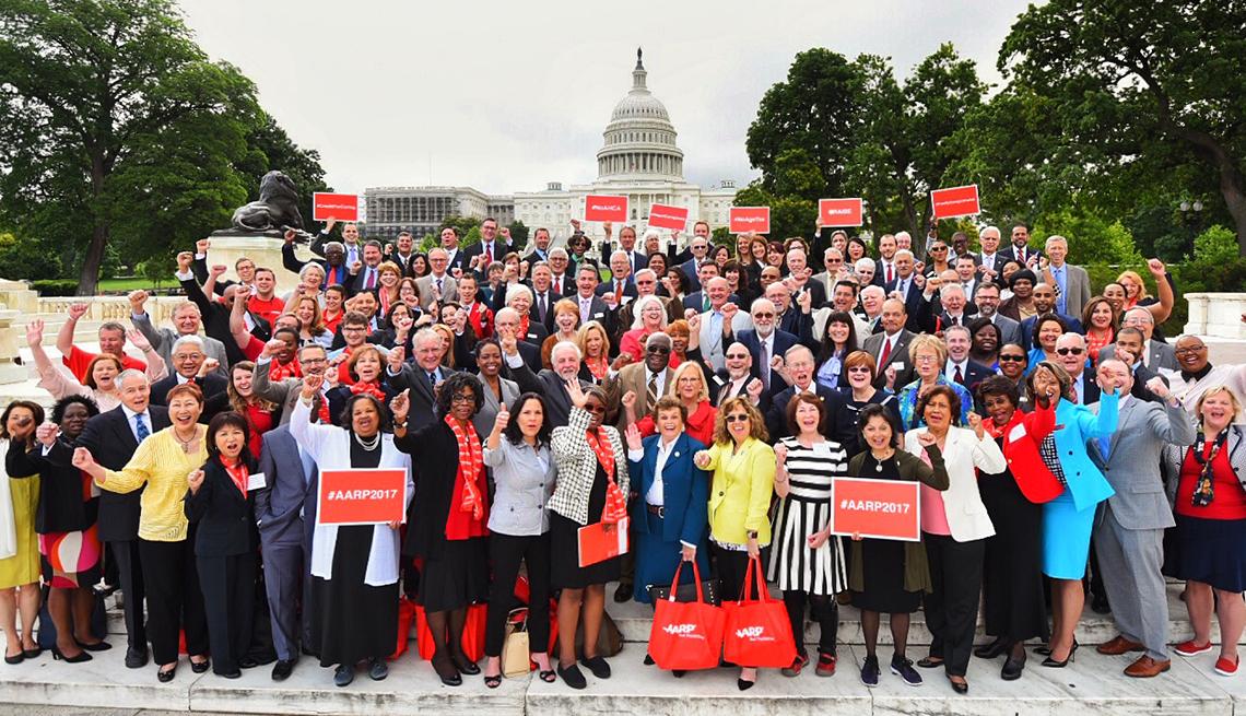 AARP Advocates Meet Congress t...