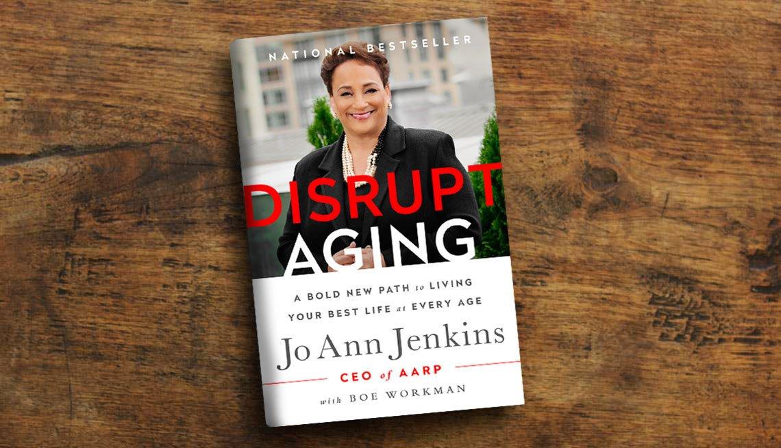Portada del libro de Jo Ann Jenkins, 'Disrupt Aging'
