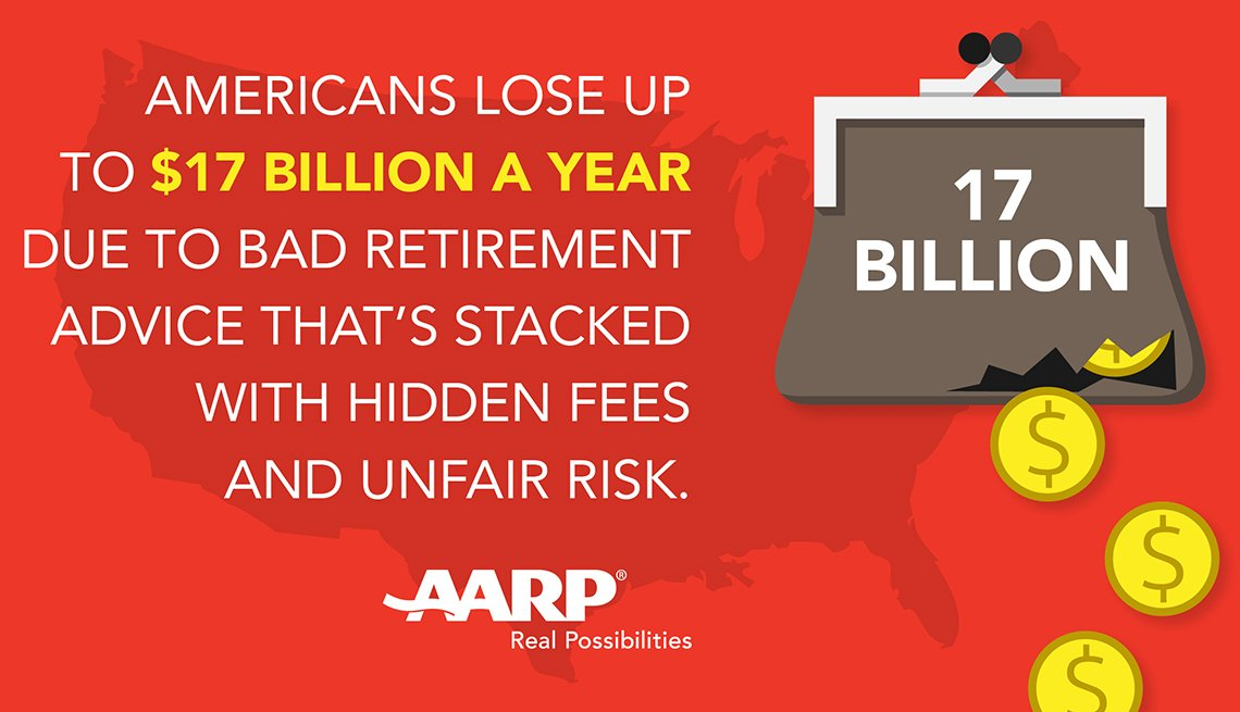 Americans lose billions a year due to bad retirement advice.
