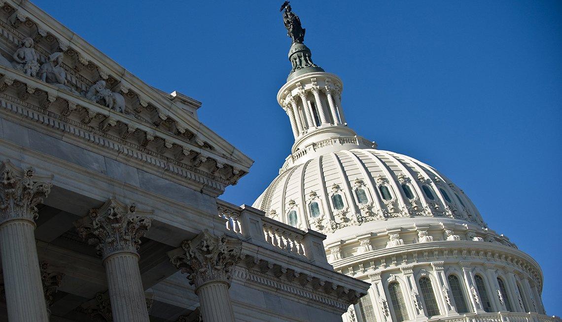 The U S Captiol Building in Washington D C