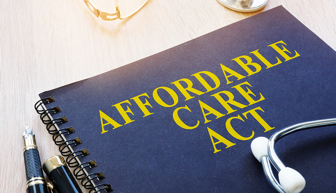 A book titled Affordable Care Act