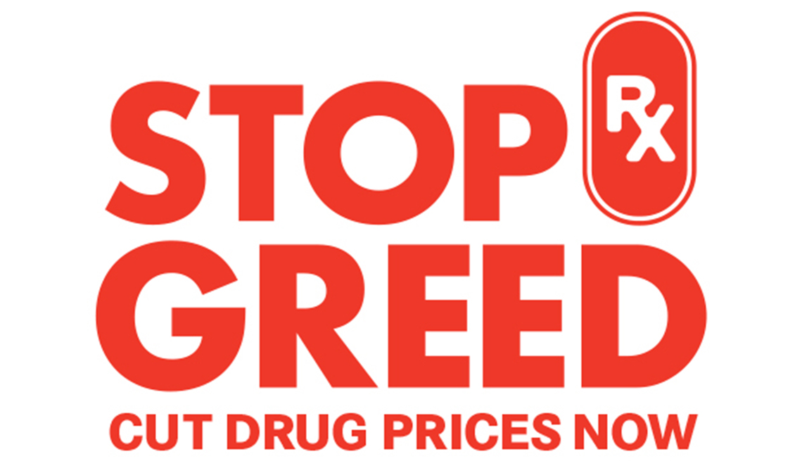 Stop Rx Greed Cut Drug Prices Now