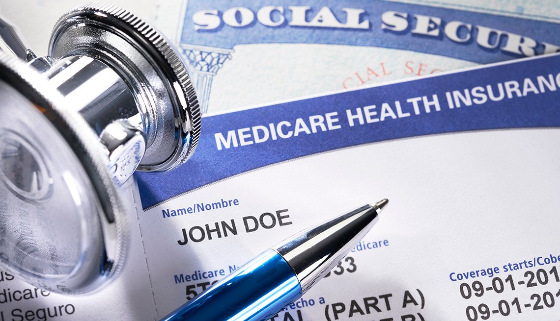 Medicare and Social Security cards