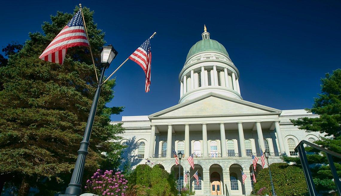 Edificio del Capitolio del estado de Maine