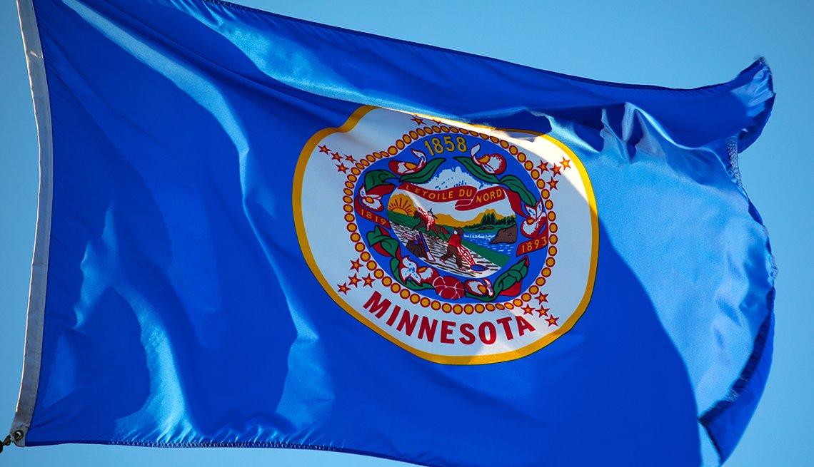 Bandera del estado de Minnesota