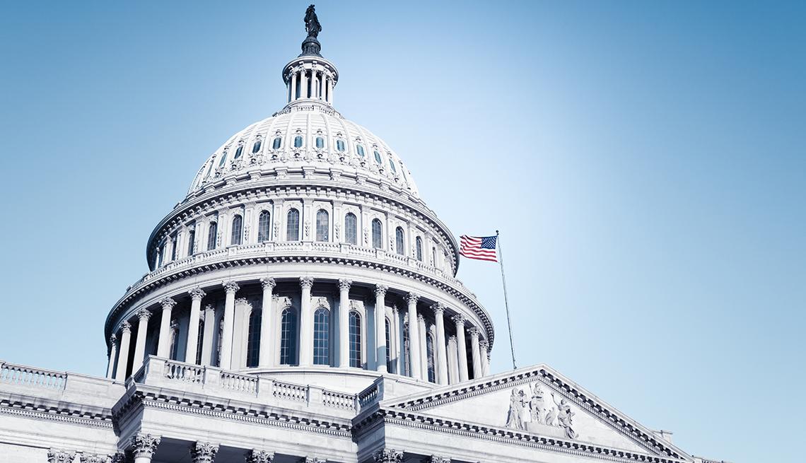 Edificio del capitolio de Estados Unidos