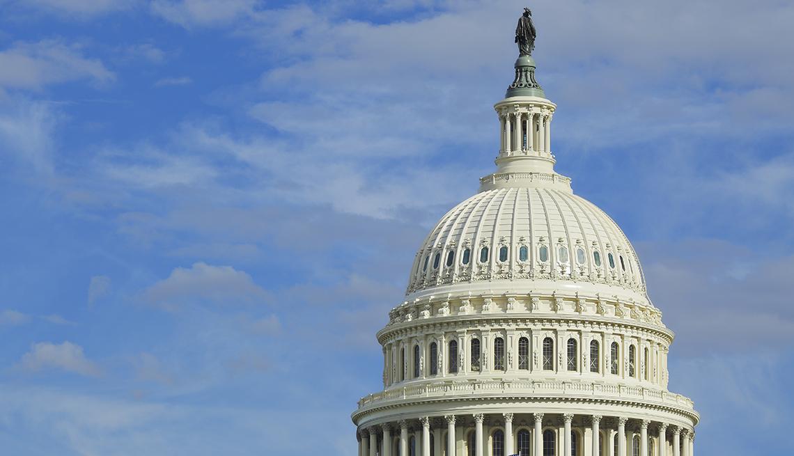 Vista de la Cúpula del Capitolio de EE. UU.