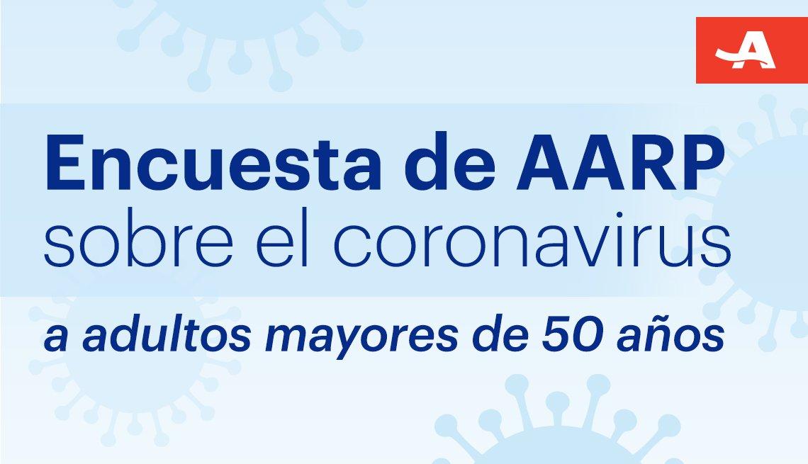 Encuesta de AARP sobre el coronavirus a adultos de 50 años