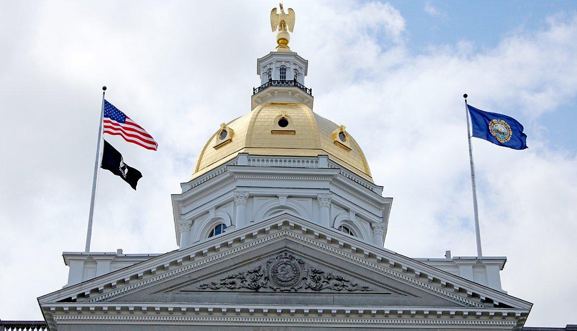 Edificio del Capitolio de Nuevo Hampshire