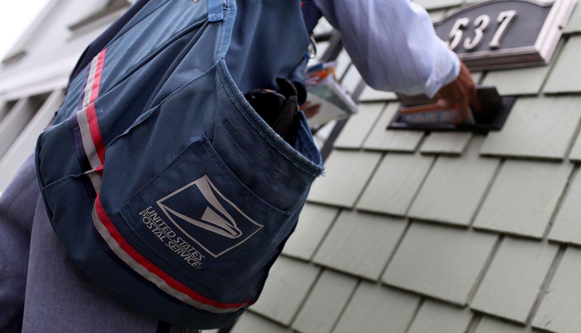 Empleado del servicio postal de Estados Unidos
