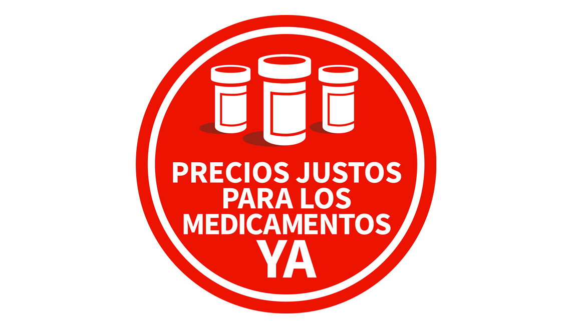Logo de la campaña precios justos para los medicamentos ya