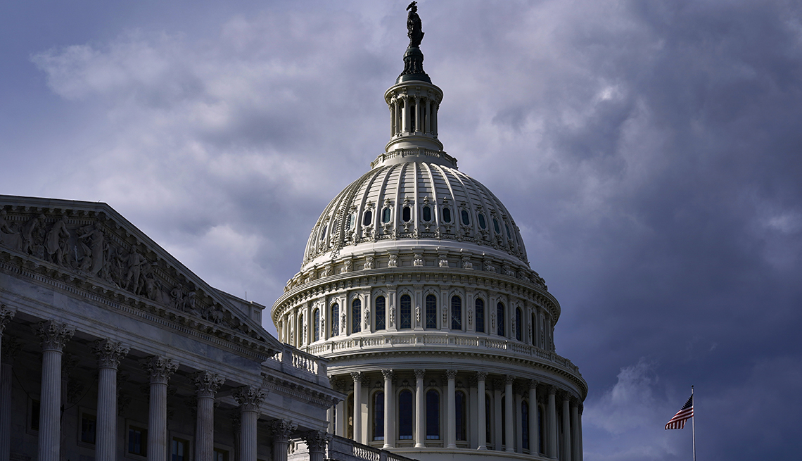 Panorámica del Capitolio en Washington DC