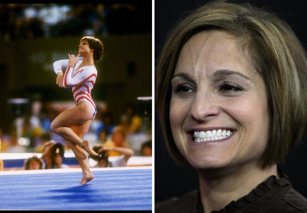 Mary Lou Retton of the United States