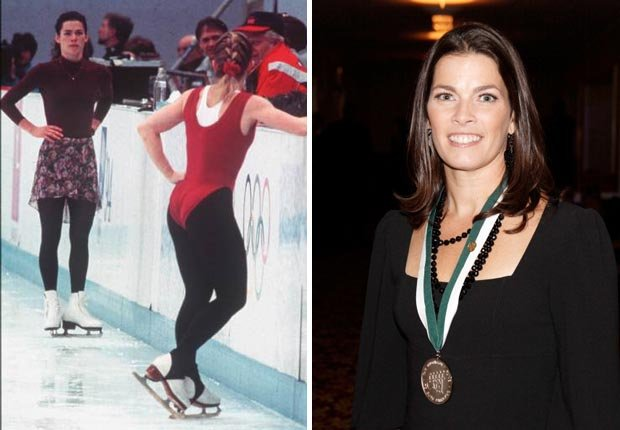 Olympic figure skater Nancy Kerrigan