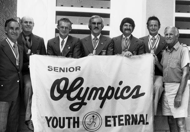 Warren Blaney, Senior Olympics