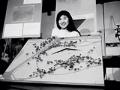 Maya Lin a los 21 años - Monumento a los Veteranos de Vietnam