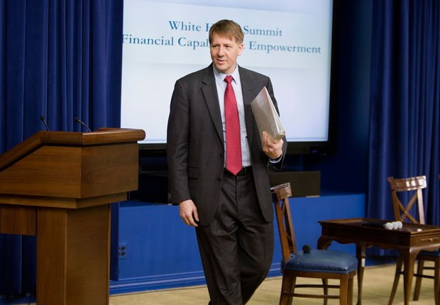 Richard Cordray, director of Consumer Financial Protection Bureau, 50 Most Influential People