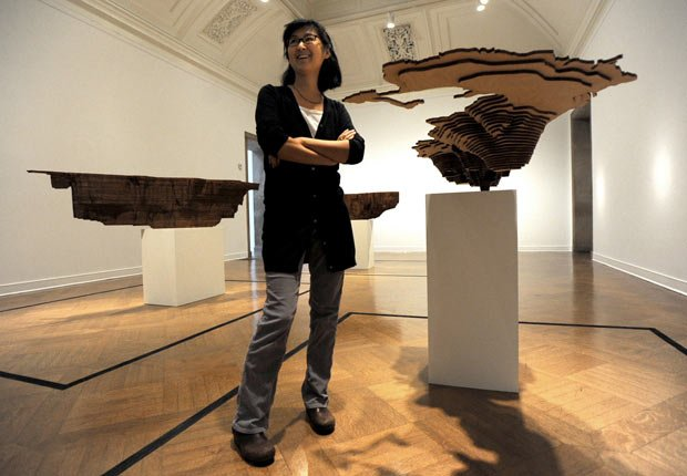 Artist Maya Lin at Corcoran, Influential Role Models