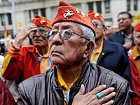 WWII Navajo Code Talker, Veterans Day