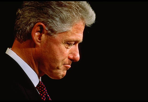 President Bill Clinton, Powerful Men Over 50 Who Cheat