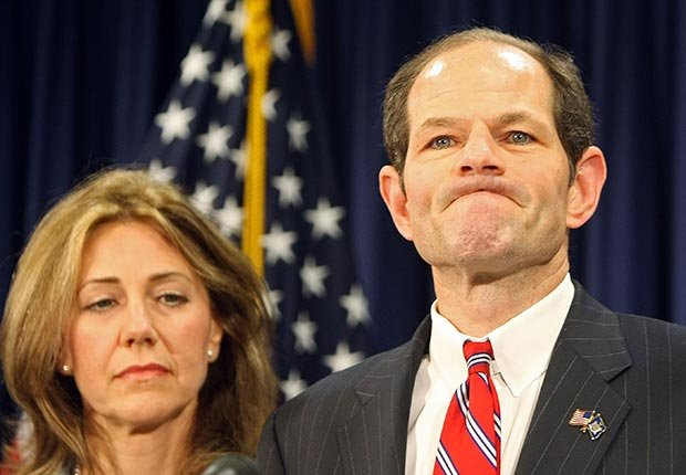 Governor Eliot Spitzer and Silda Spitzer, Powerful Men Over 50 Who Cheat