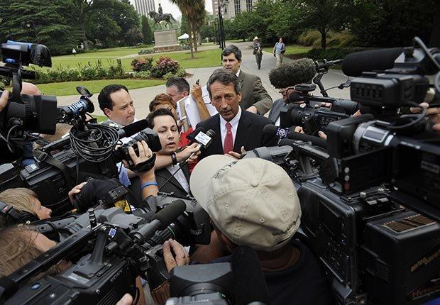 South Carolina Gov. Mark Sanford, Powerful Men Over 50 Who Cheat