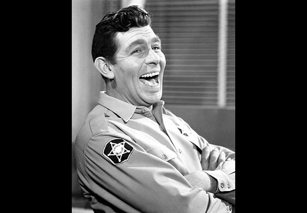 Actor Andy Griffith of the Andy Griffith Show died on July 3, 2012.