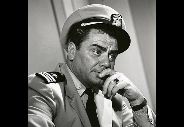 Actor Ernest Borgnine in McHale's Navy, died July 8, 2012