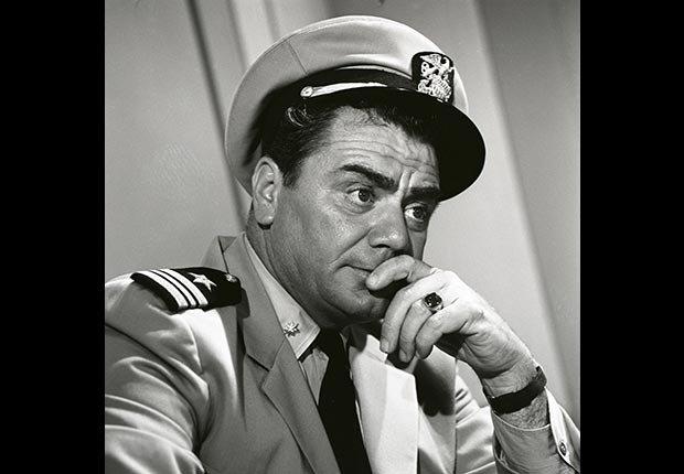 Actor Ernest Borgnine in McHale's Navy, died July 8, 2012