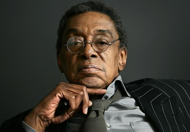 TV host Don Cornelius.  Cornelius hosted Soul Train, and he died on February 1, 2012.