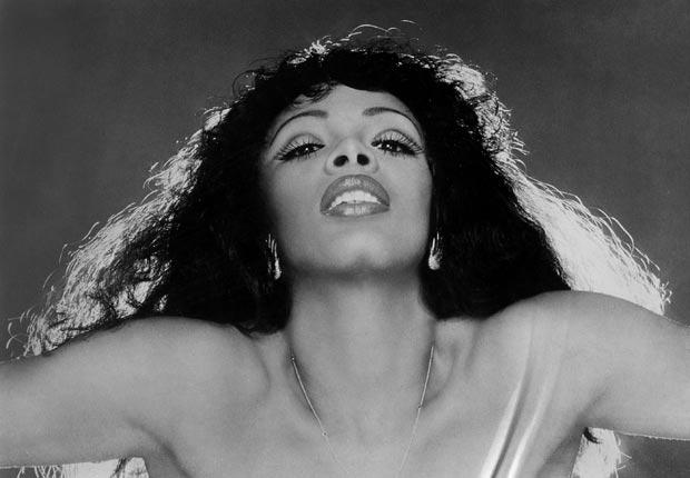 Donna Summer portrait singer glamour