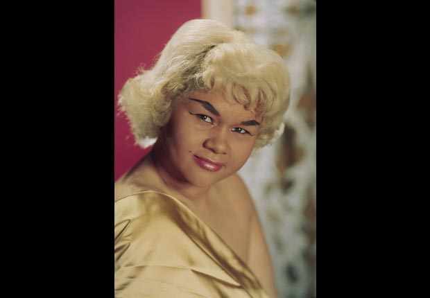Etta James portrait sixties