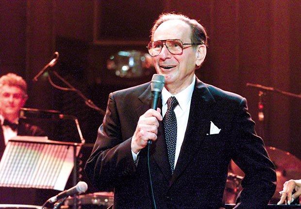 Hal David at Royal Albert Hall tribute concert