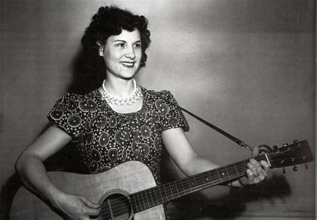 Kitty Wells country singer guitarist portrait